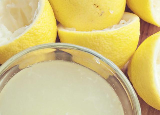Чудесный лимонный сок